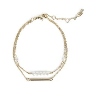 NWT Carolee Gold Daisy Bracelet